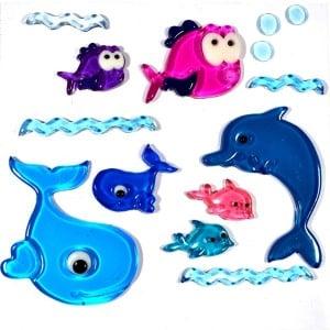 Gel Gems Sea Family