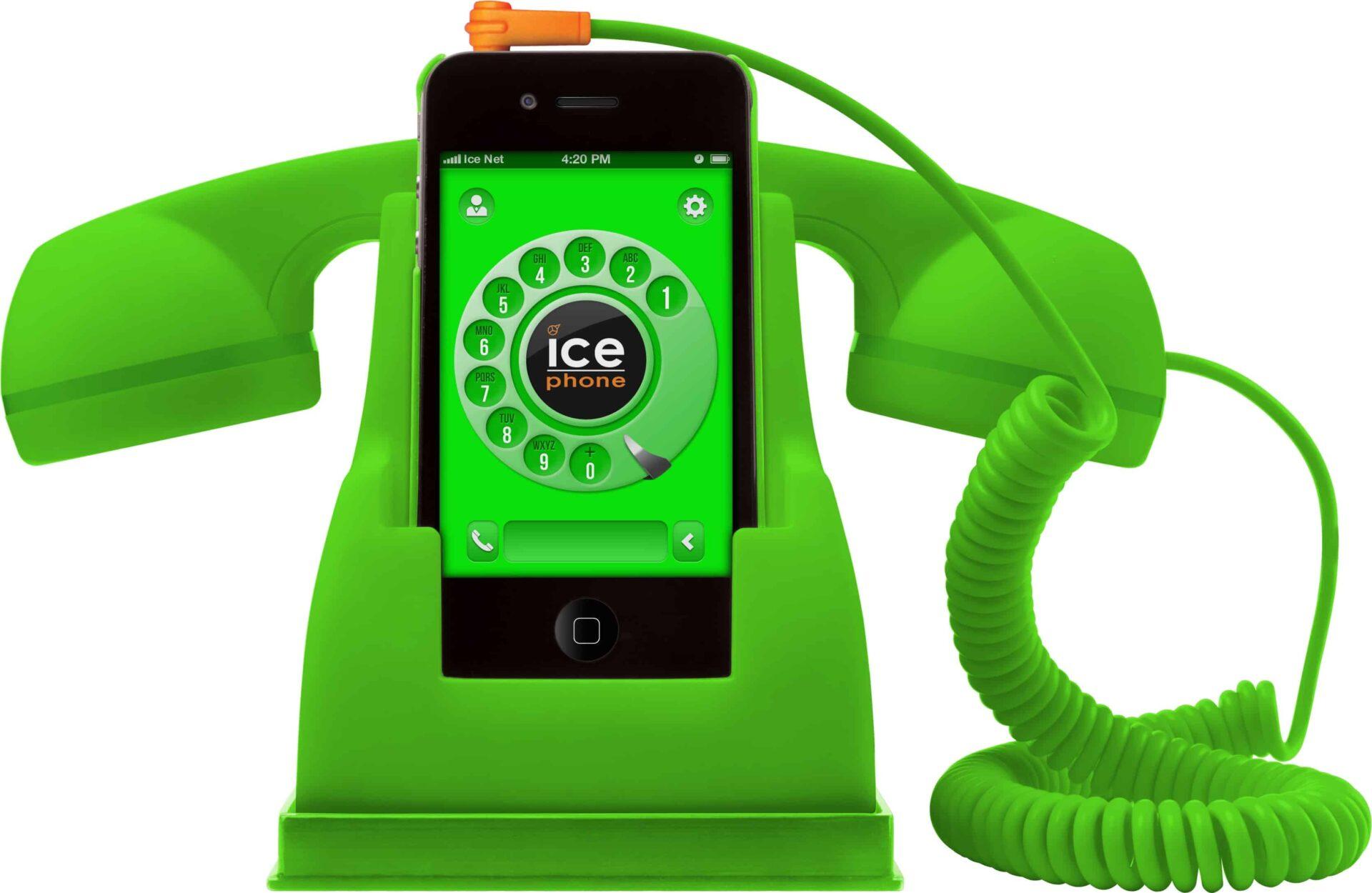 ICE PHONE : porta telefono multimediale