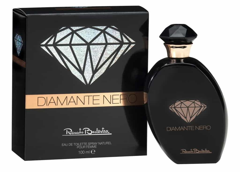DIAMANTE NERO: la sofisticata fragranza di Renato Balestra