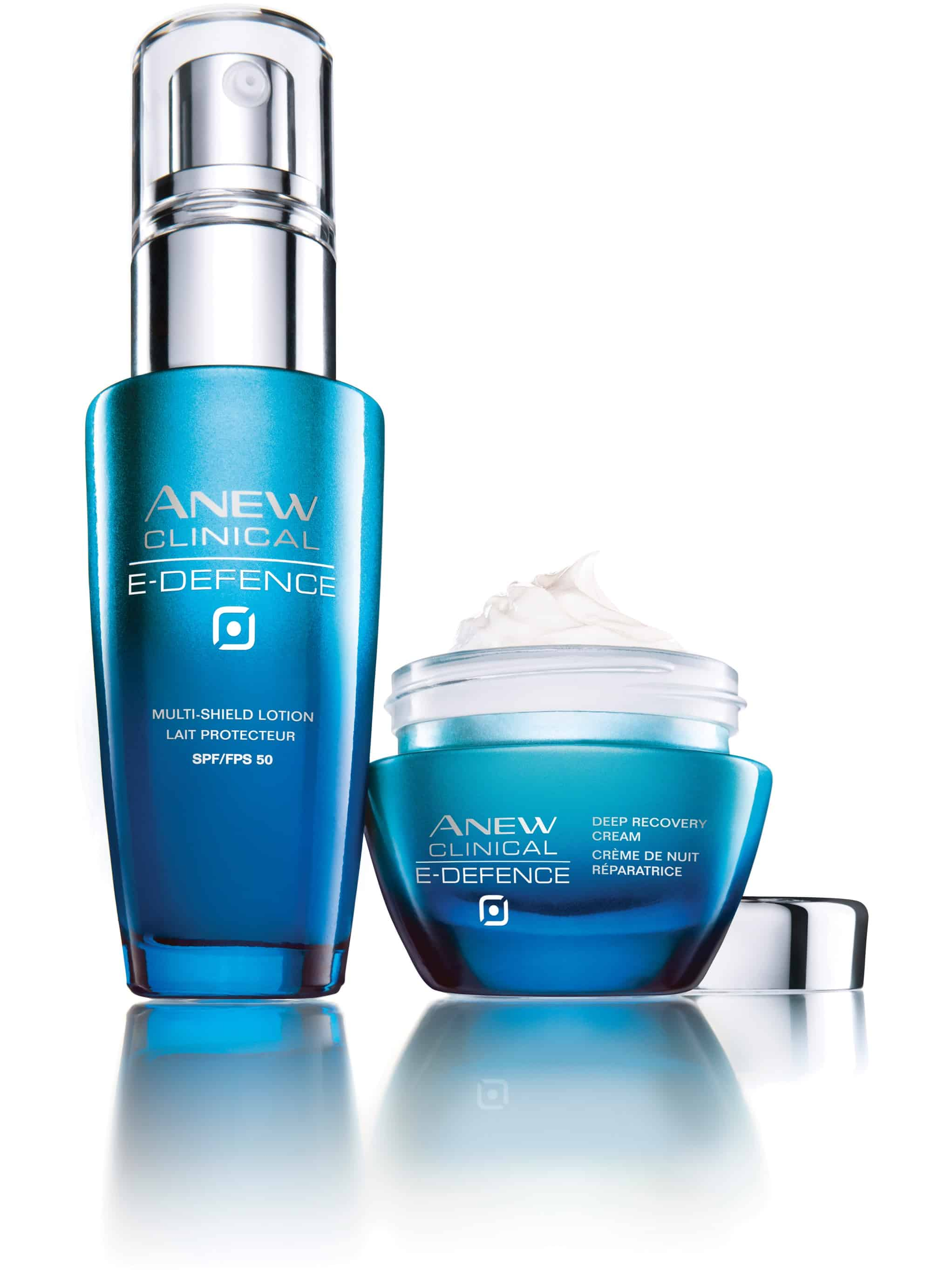 Avon ANEW Clinical E-Defence aiuta a ripare i danni cutanei dovuti all'ambiente