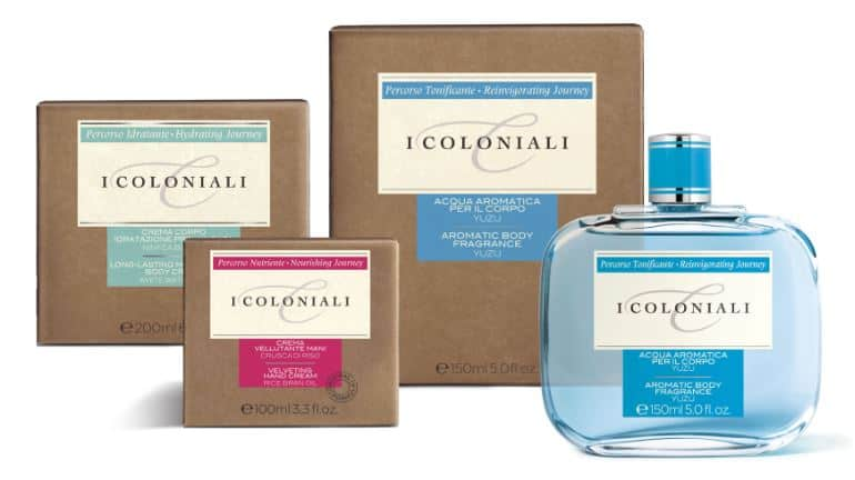 Per I COLONIALI nuovo packaging in carta Crush : l'ambiente ringrazia!