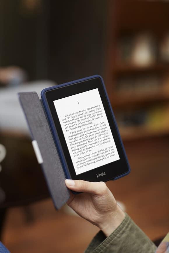Nuovo Kindle Paperwhite: nuova tecnologia e luce integrata per leggere ancora meglio, ovunque
