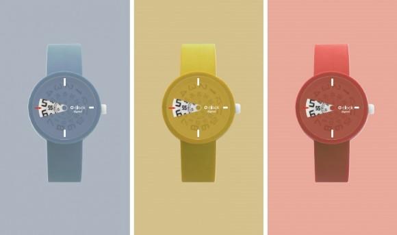 FULLSPOT al WHITE propone orologi in plastica da indossare al polso o..al collo!