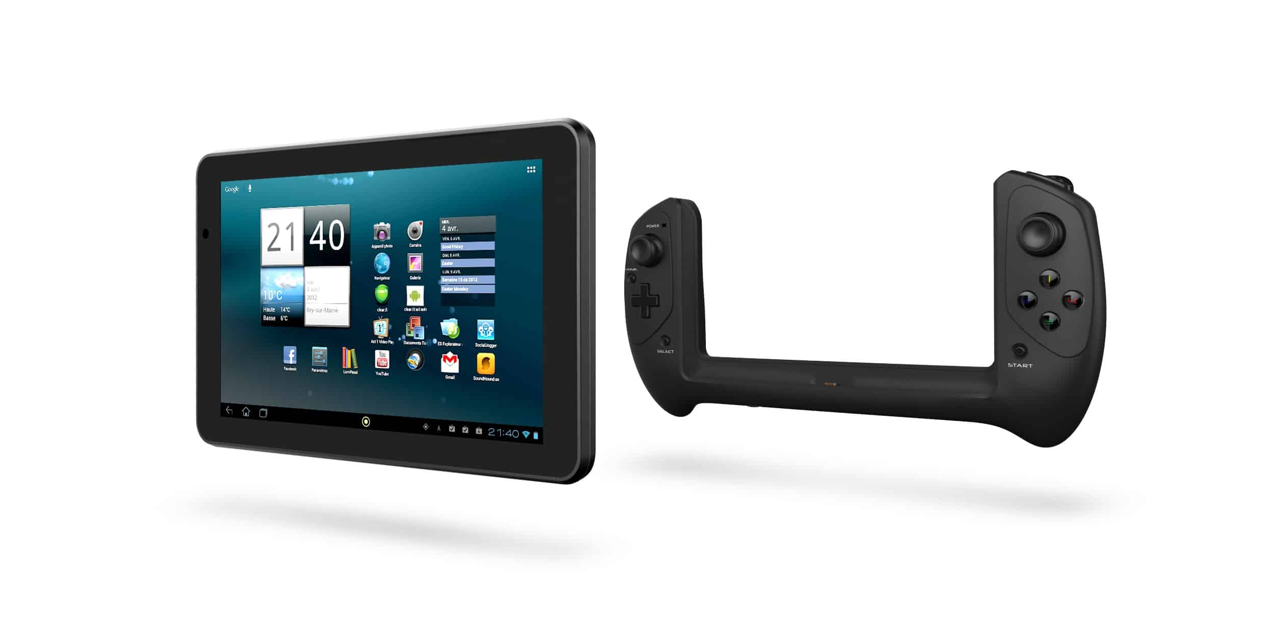 GAMETAB-ONE: il tablet Bigben Play con controller separabile