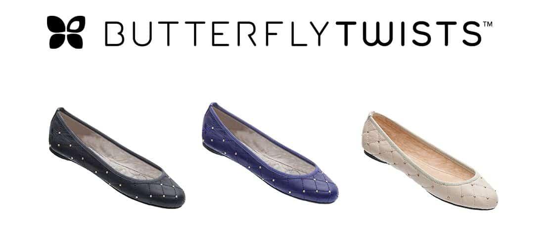 BUTTERFLY TWISTS COLLEZIONE A/I 2013/14: le  ballerine pieghevoli che…più comode non si può!