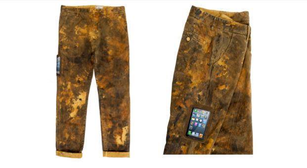 Nuovissimo il pantalone camo high tech friendly di haikure