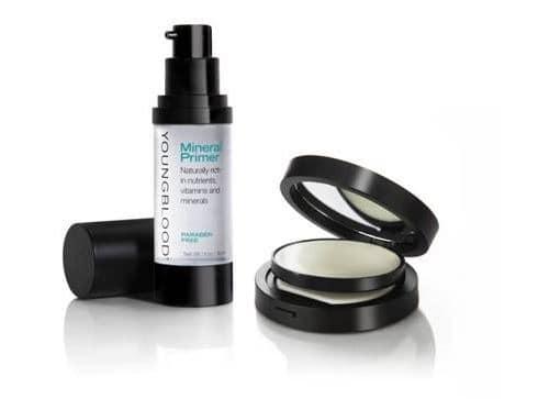 Mineral Primer e Anti shine Mattifier Youngblood: ingredienti naturali per un make-up perfetto