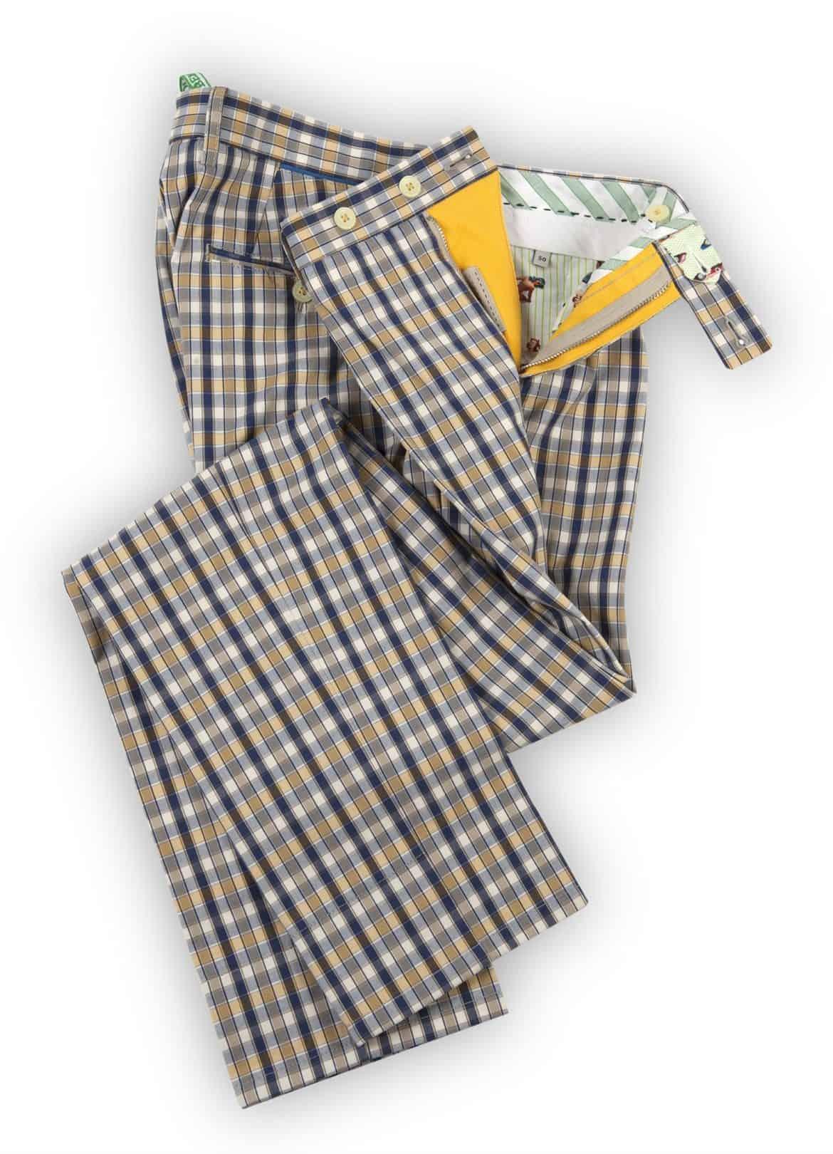 Per la primavera/estate 2014 pantaloni informali firmati Berwich