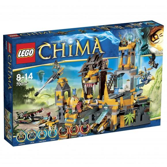LEGO CHIMA 70010 Il Tempio CHI dei Leoni_Box