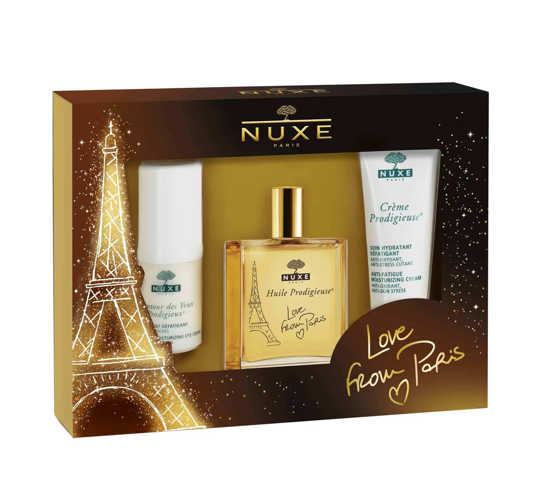Il cofanetto Prodigieux Love from Paris renderà il vostro Natale ancora più magico!