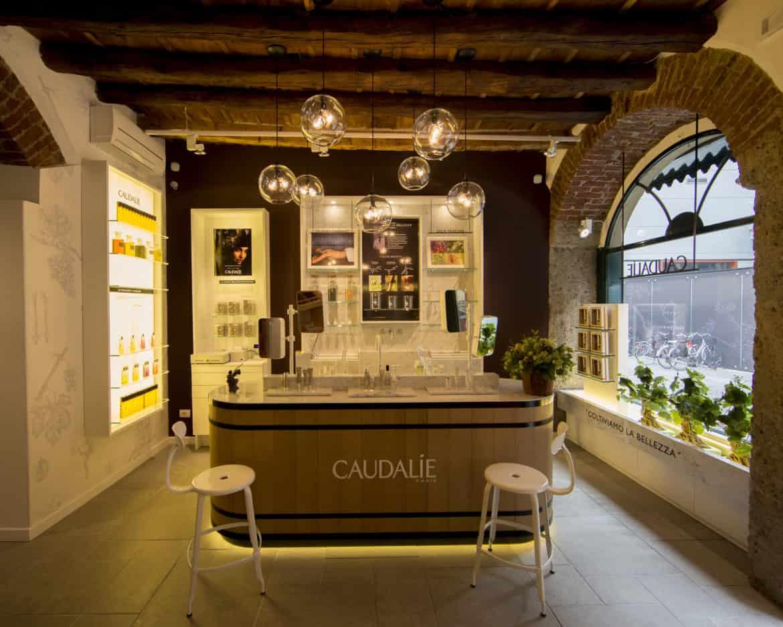 Inaugurato a Milano il primo negozio Caudalie