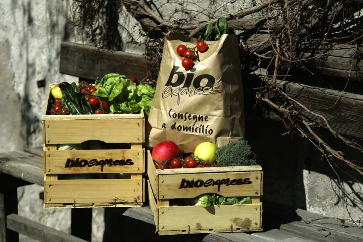 A Natale (o tutto l'anno) regala una cesta di prodotti biologici Bioexpress