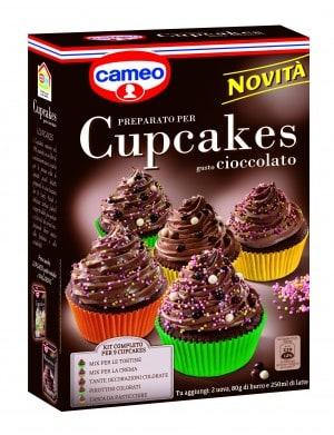Cupcakes al cioccolato Cameo: momenti di puro piacere!