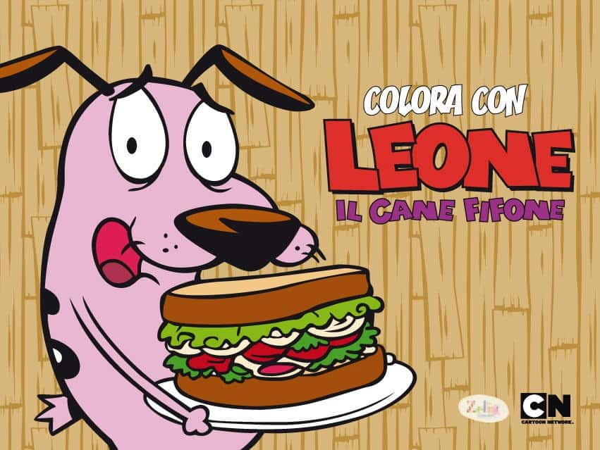 Idea regalo per bambini: tre albi da colorare e il libro a fumetti di Leone il cane fifone