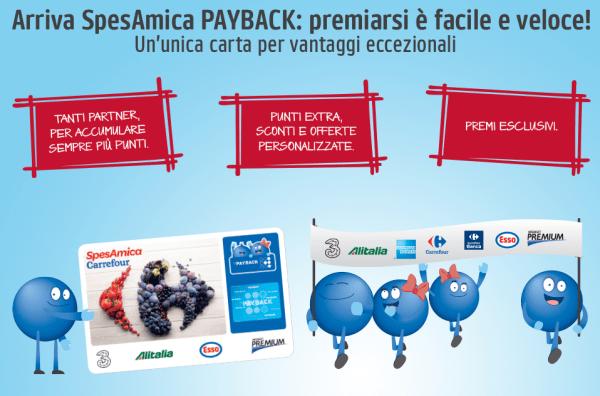 SpesAmica Payback: la card per raccogliere punti da tanti partner!