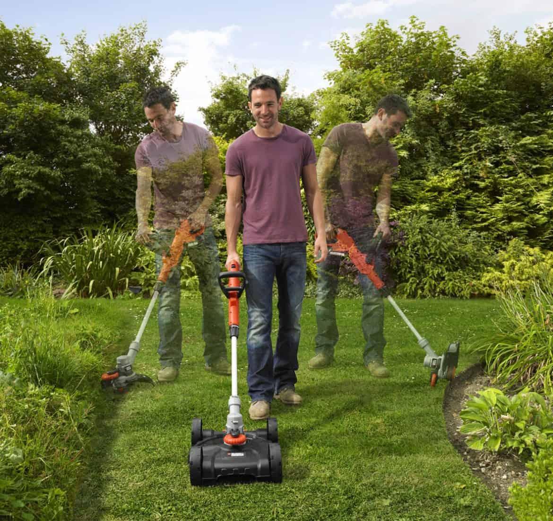Con il tosaerba Black&Decker curare il giardino diventa un gioco da ragazzi!