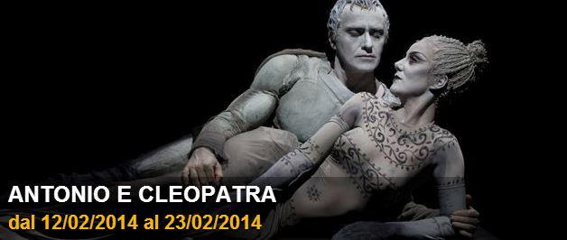Al Teatro Carcano di Milano va in scena ANTONIO E CLEOPATRA