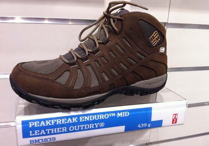 Columbia Peak Freak Enduro: scarpe da trekking da usare anche in città!