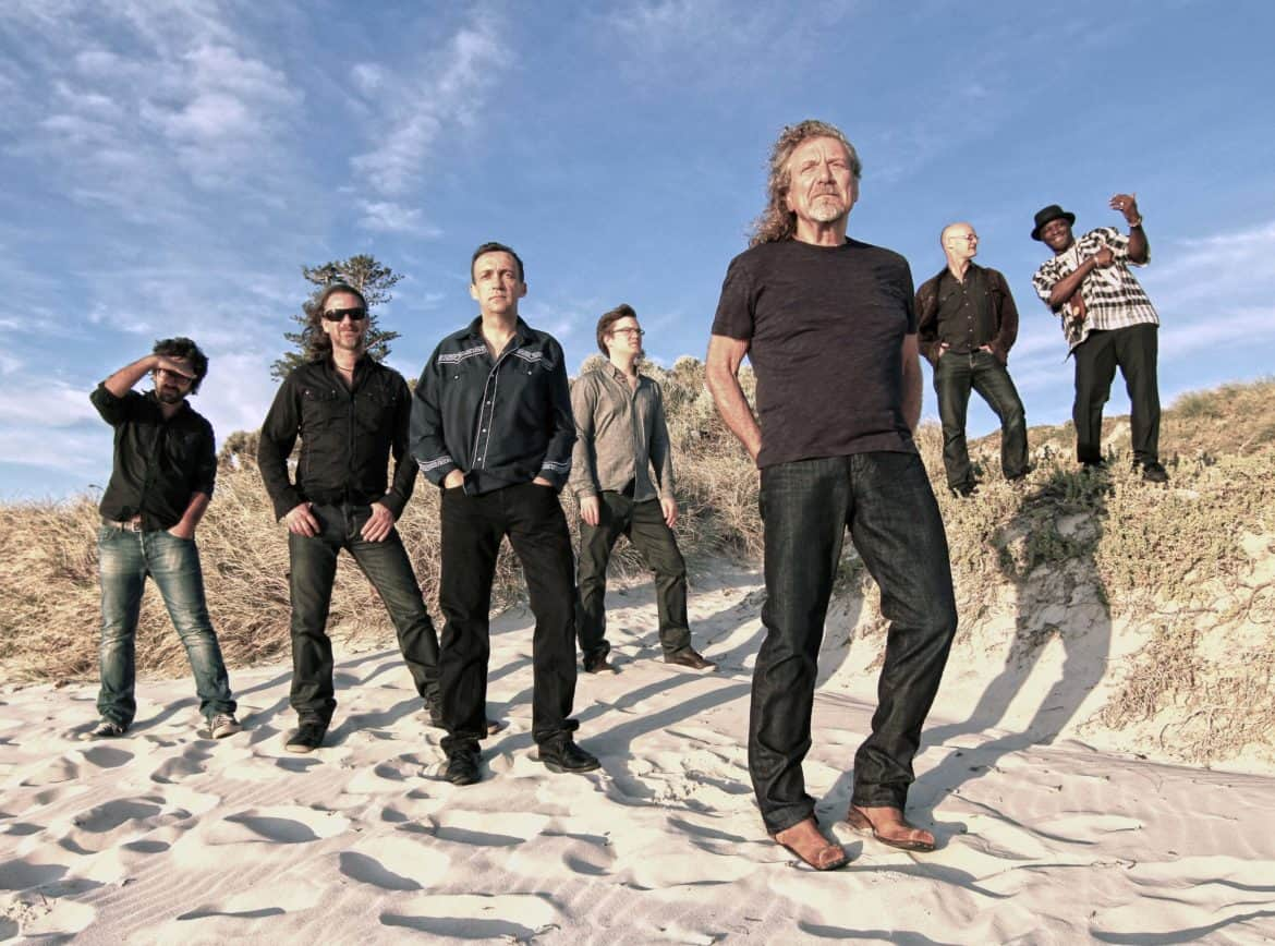 Robert Plant and The Sensational Space Shifters a luglio in Italia‏