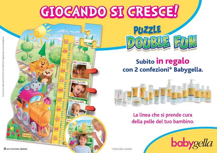 Babygella regala il puzzle Double Fun di Clementoni
