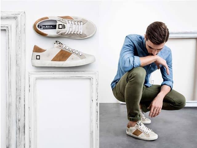 Il gioco dei contrasti di D.A.T.E. sneakers