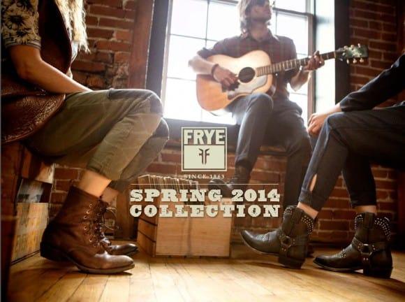 Collezione primavera 2014 calzature Frye