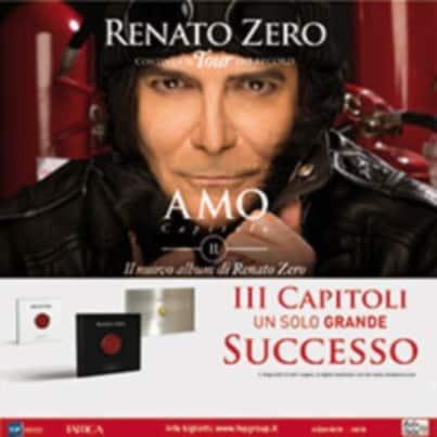 AMO TOUR - Capitolo II: il travolgente concerto di Renato Zero al MILANO MEDIOLANUM FORUM