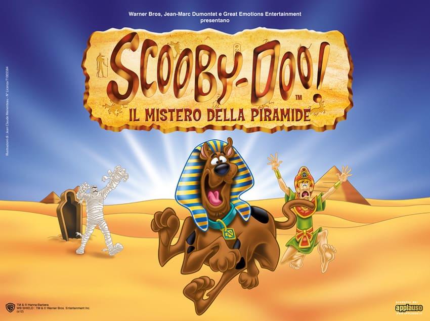 """Il divertente musical """"Scooby Doo - Il Mistero della Piramide"""" arriva a Milano!"""
