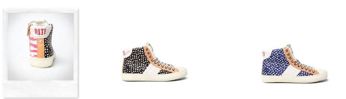 Con le D.A.T.E. sneakers l'estate è ... a pois!