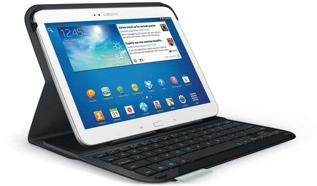 Da Logitech tastiera e cover protettiva per dispositivi Samsung