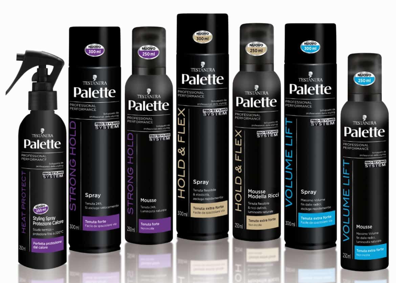 Testanera Palette Styling: nasce la nuova linea Palette Invisibile