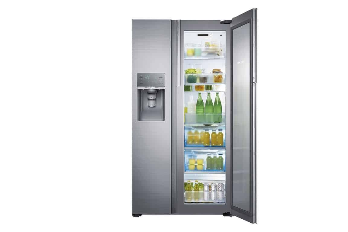 Food showcase con il nuovo frigorifero samsung in cucina for Nuovo frigo samsung