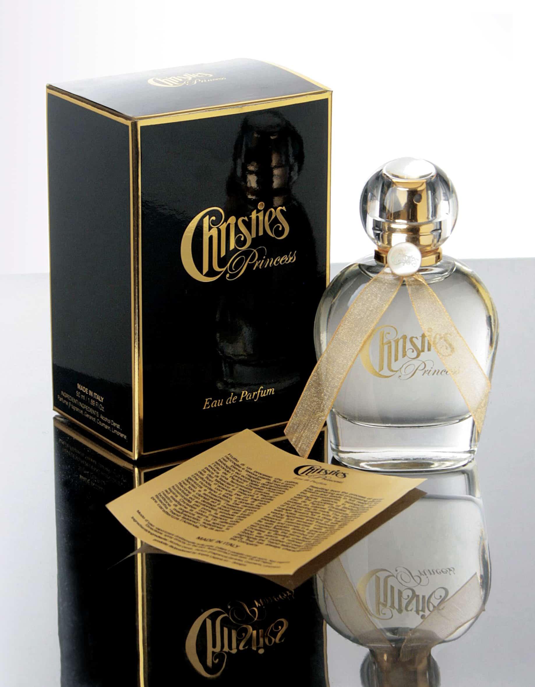 Nasce Eau de Parfum Christies Princess, la prima fragranza di Christies