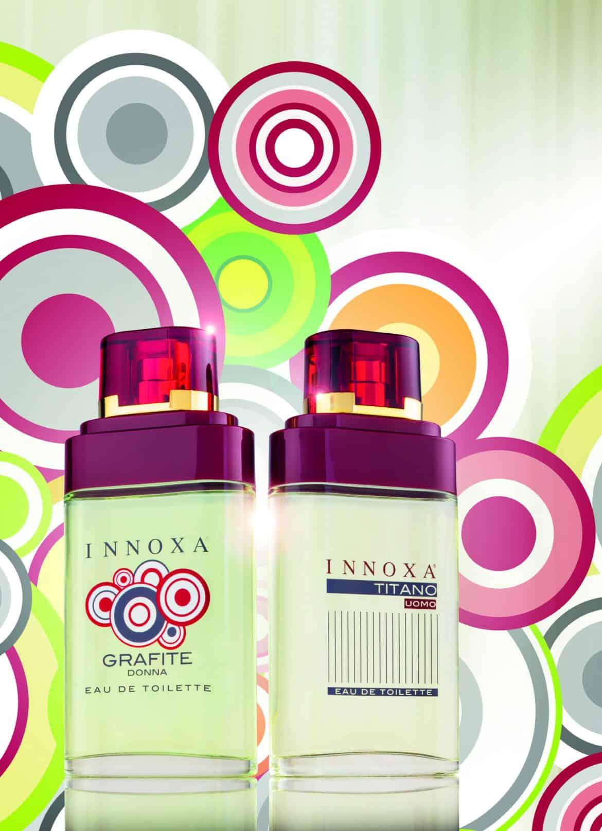 Titano e Grafite: le due fragranze Innoxa