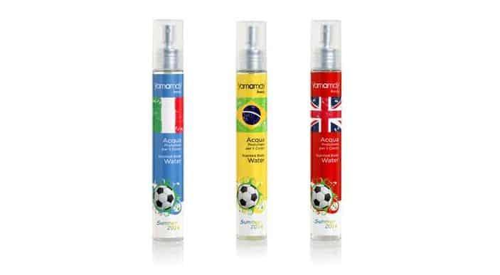 Le fragranze Yamamay Beauty si vestono dei colori delle squadre di calcio dei Mondiali