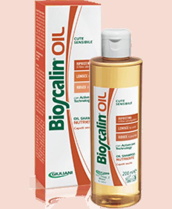 Novità Bioscalin per il cuoio capelluto sensibile: Shampoo Oil Extra Delicato e Shampoo Oil Nutriente