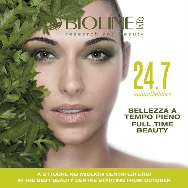 Bioline Jatò presenta 24.7 naturalbalance