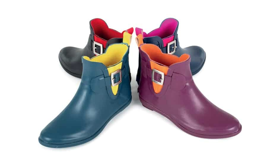 Eleganti come non mai i nuovi stivali da pioggia Rain Boots Bold Colours firmati GIOSEPPO!