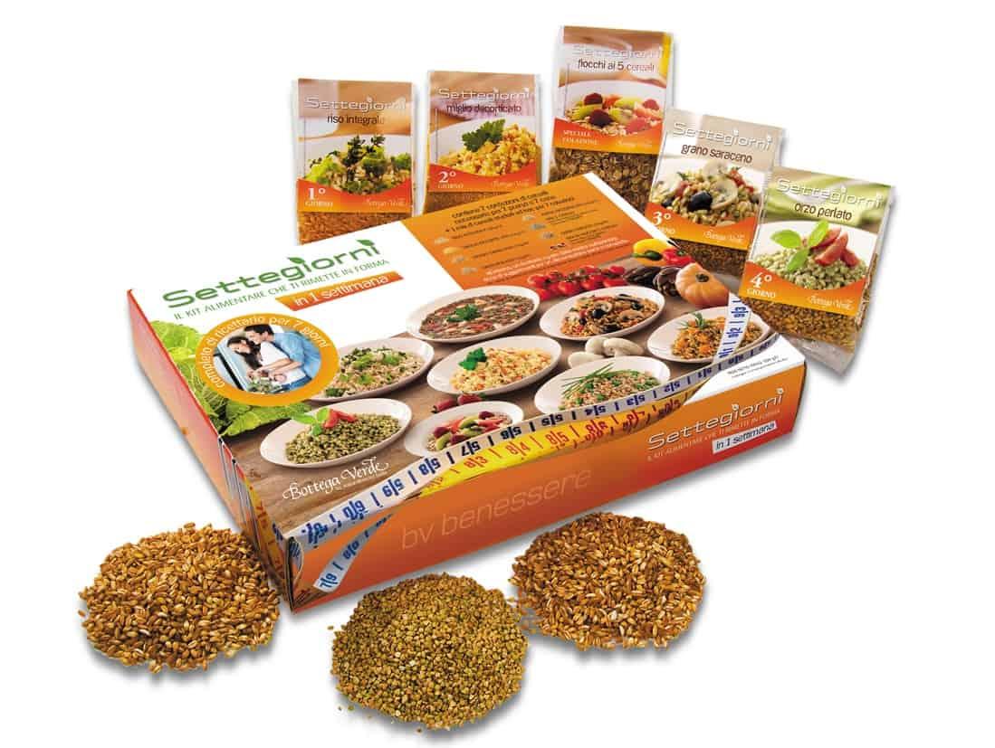 Bottega Verde: con il kit alimentare Settegiorni ti depuri e ritrovi la forma!