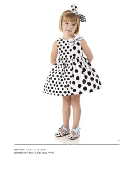 Ispirata al mondo delle bambole per le bambine e al classico blu per i maschietti la nuova collezione Simonetta Mini 2015