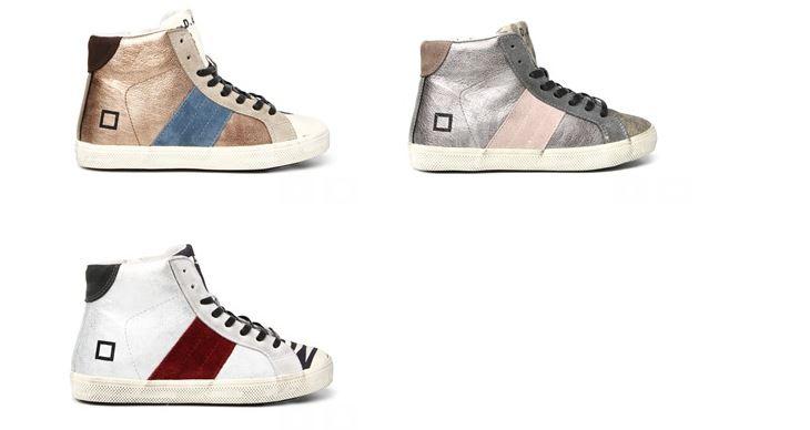 Sneakers laminate by D.A.T.E. Kids per bambini fashion!
