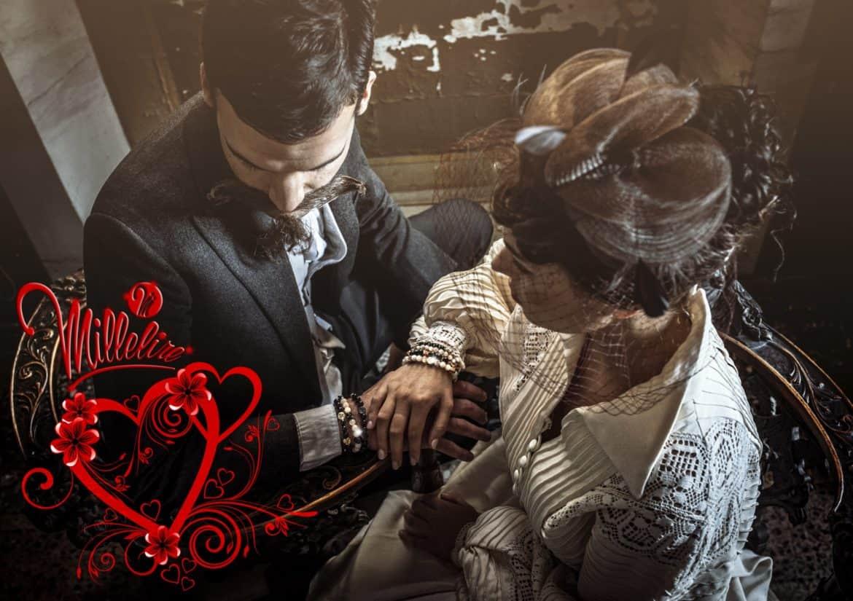 """Per San Valentino Millelire propone bracciali con la simbologia delle """"coppie morganatiche"""""""