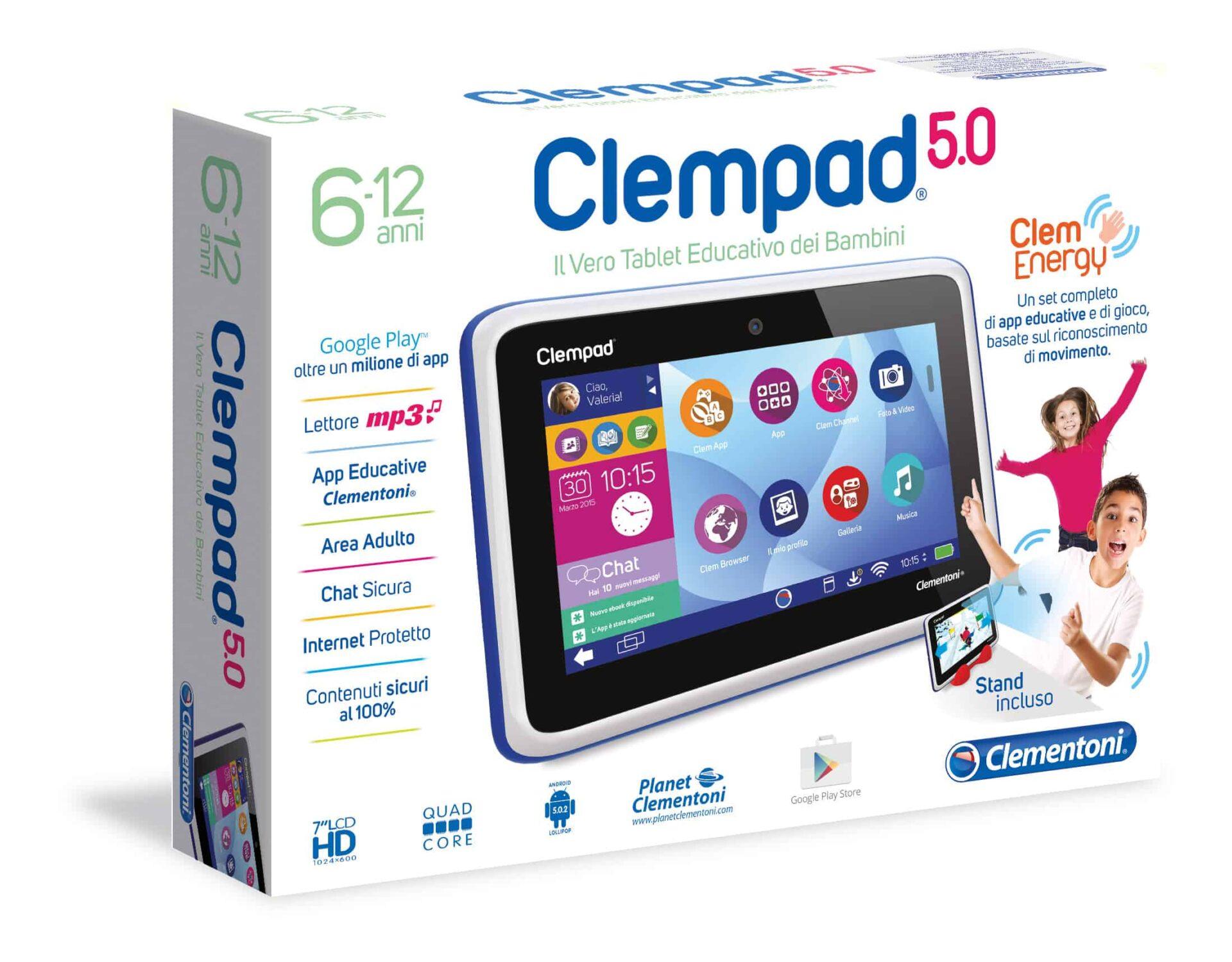 A Natale Clempad Call di Clementoni, un'idea regalo utile e divertente
