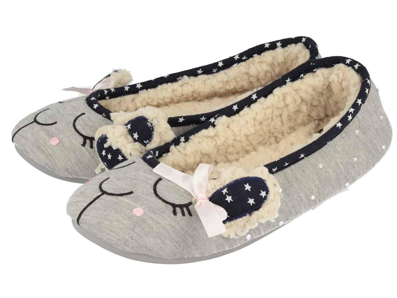 Counting Sheep, le pantofole firmate Gioseppo ideali per un magico Natale in casa!