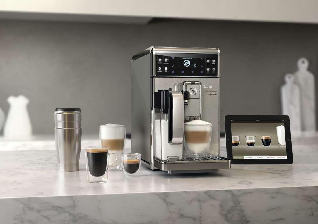 Macchine per il caffe' Saeco, per un mix di gusto e personalizzazione