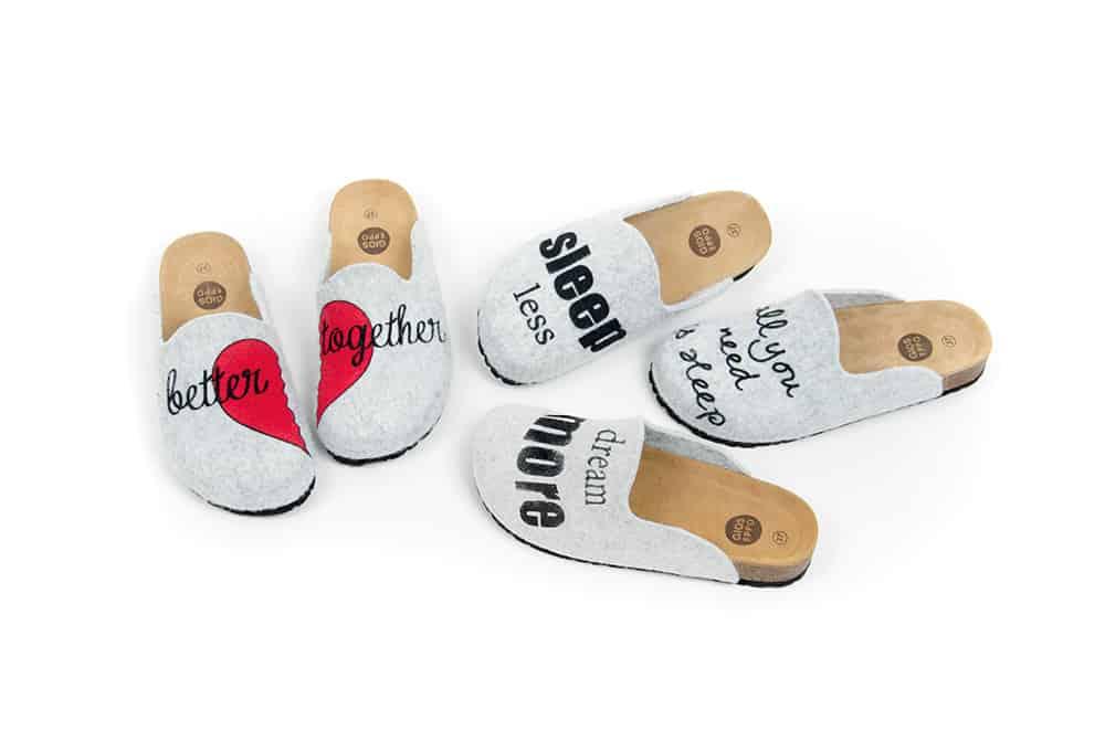 Il regalo perfetto per San Valentino: le calde slippers di Gioseppo