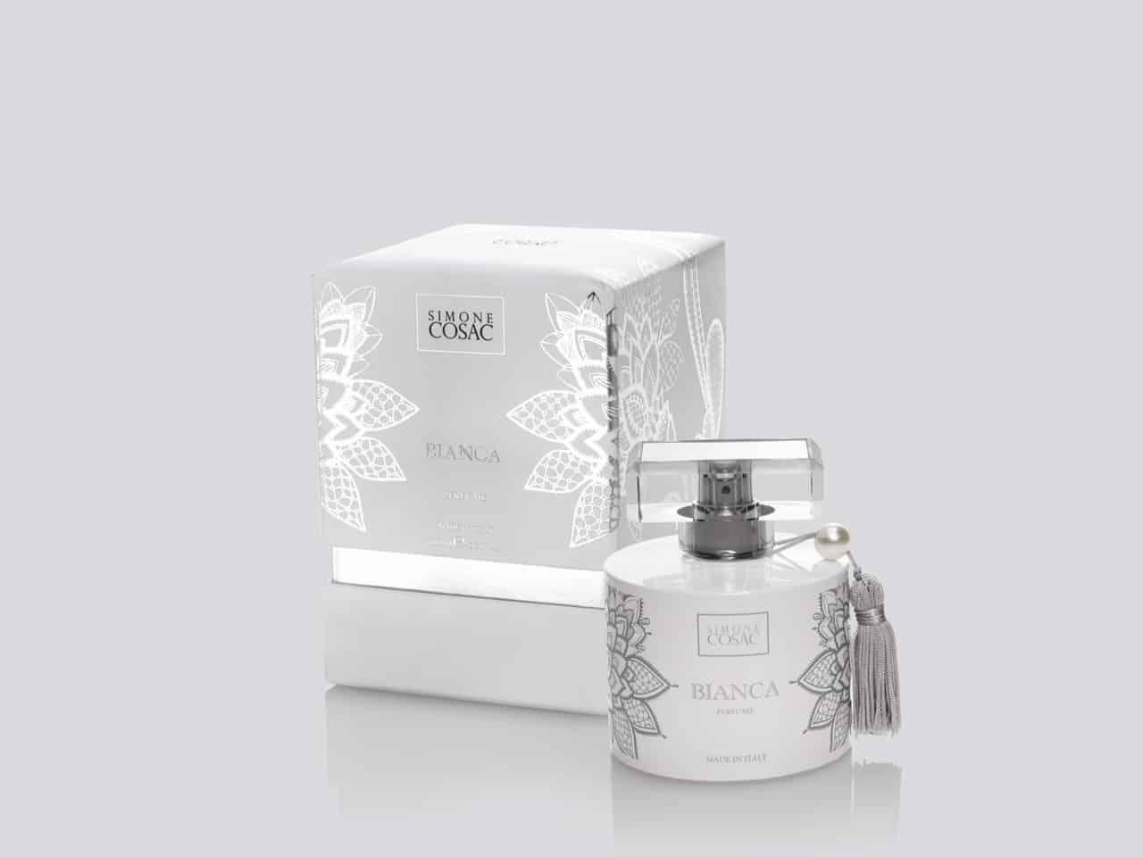 Bianca, la nuova fragranza per l'estate di Simone Cosac