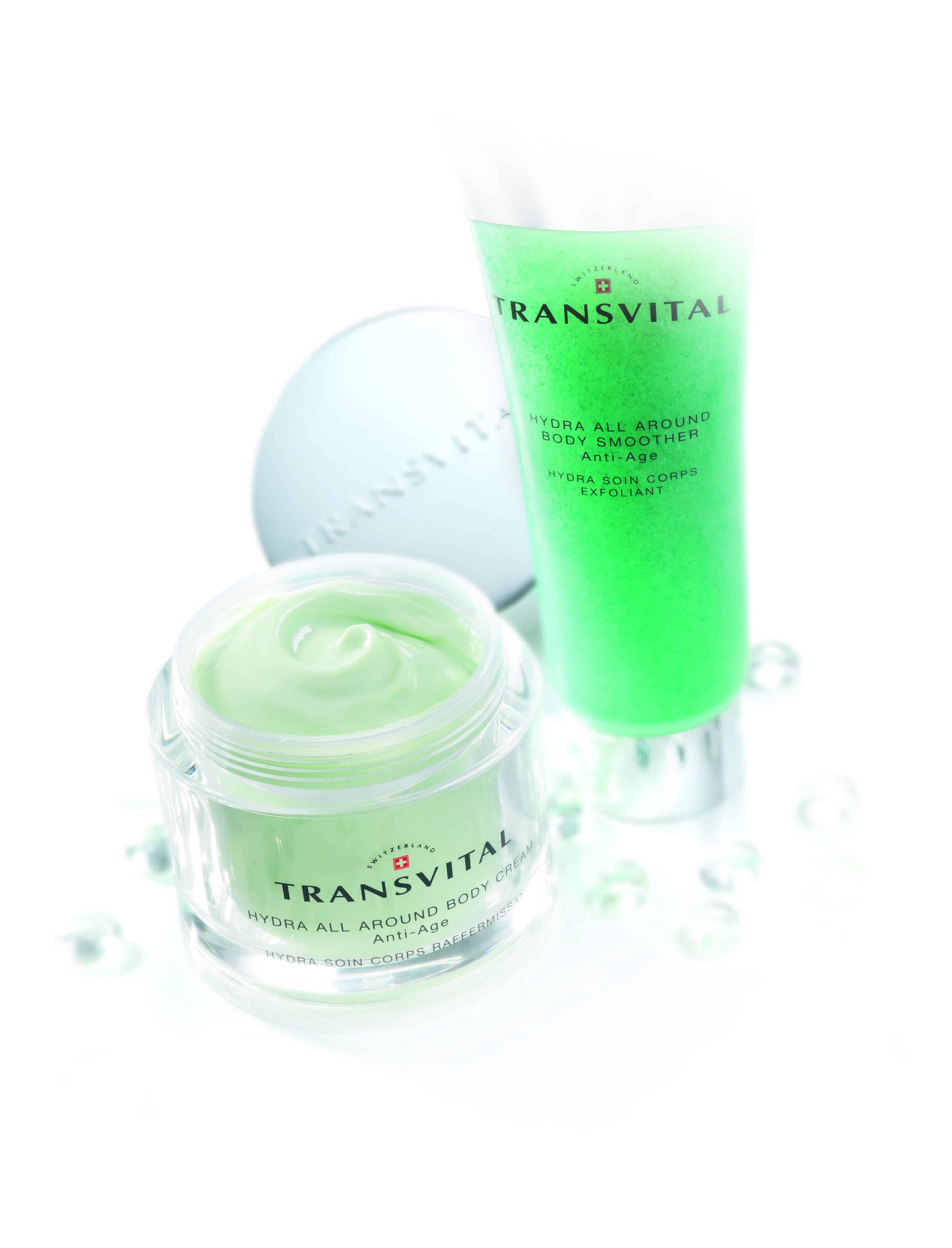 Hydra All Around Body Smoother & Hydra All Around Body Cream by Transvital