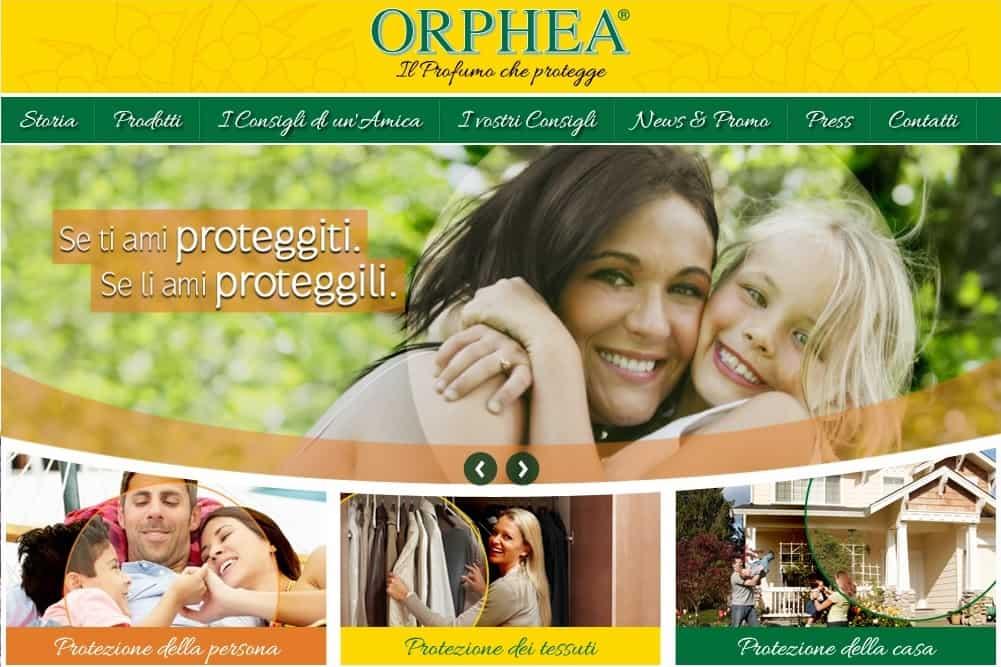 Orphea Protezione Persona, per una protezione dagli insetti a base naturale