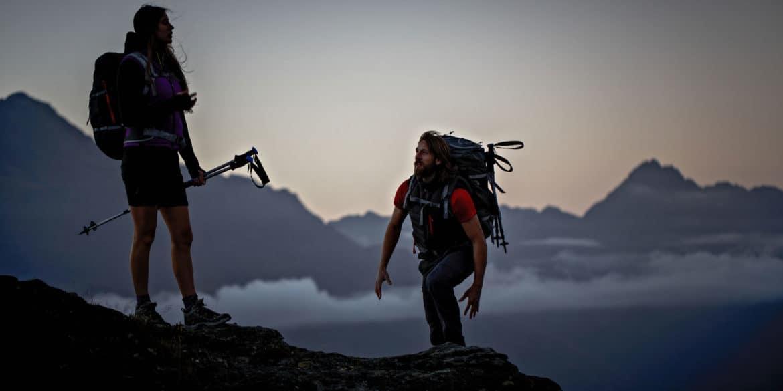 Per l'escursionismo estivo equipaggiamento tecnico firmato Quechua
